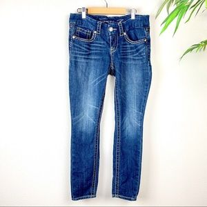 7 FOR ALL MANKIND Skinny Jeans, Size 30